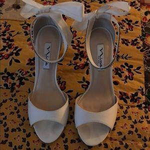 Nina New York ivory wedding shoes